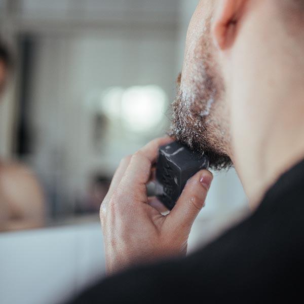 Beard Soap - Bartseife mit Aktivkohle