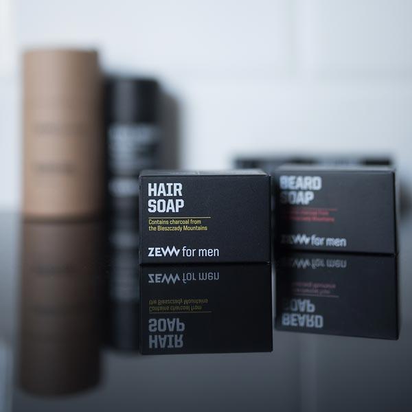 Hair Soap - Haarseife mit Aktivkohle