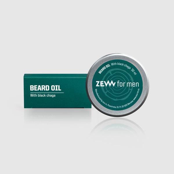 beard oil with Black Chaga