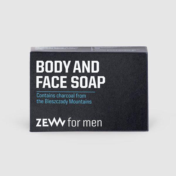 Seife mit Aktivkohle für Körper und Gesicht