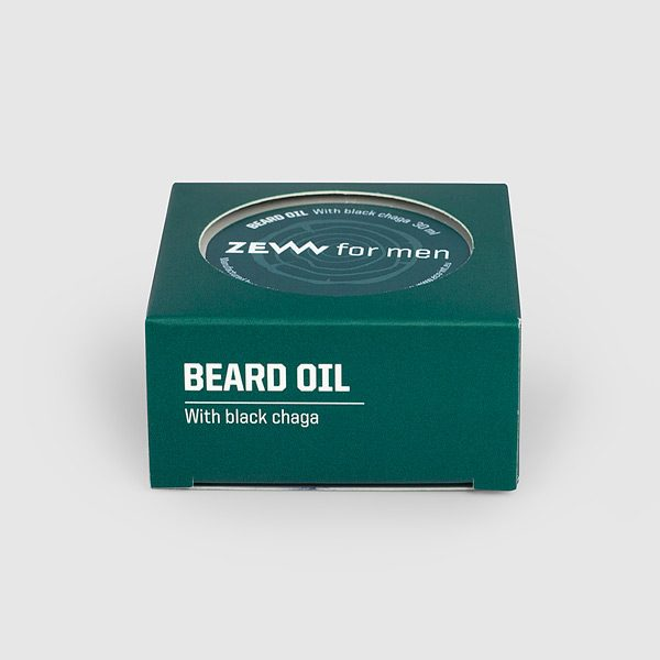 Beard Oil - natürliches Bartöl mit Black Chaga