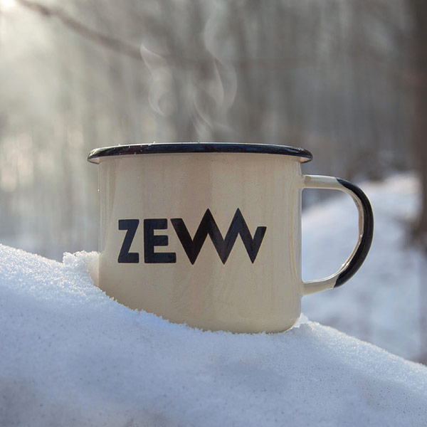 ZEW for men Emaille Travel Mug