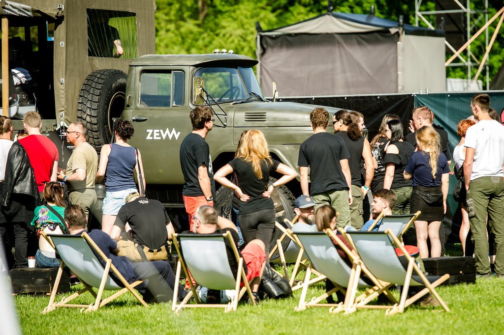 Crowd at ZEW Festival