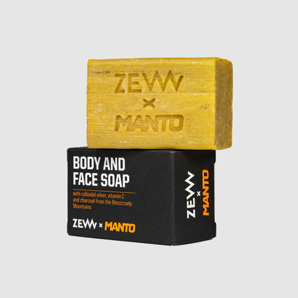 Body and Face Soap - Manto x ZEW for men