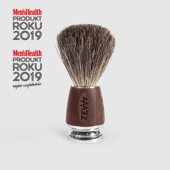 ZEW for men shaving brush - Men's Health award for best product in 'beard & shave' category