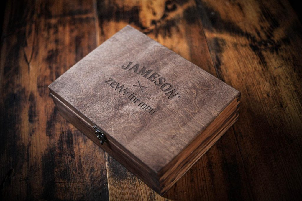 ZEW for men x Jameson Whiskey